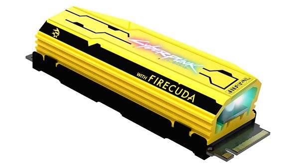 FireCuda 520 Cyberpunk 2077 Limited Edition