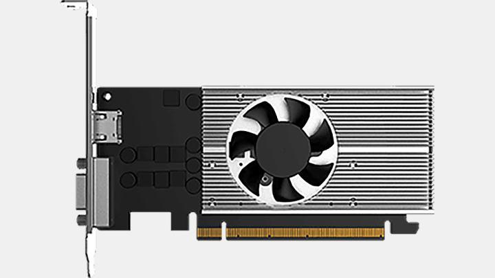 新しいインテルDG1ディスクリートGPUが登場。D-Sub出力とロープロファイルデザインの融合