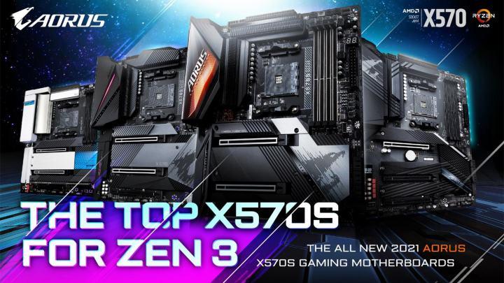 ギガバイト、AMD X570Sマザーボードを発売:ハイパフォーマンス、パッシブクーリング