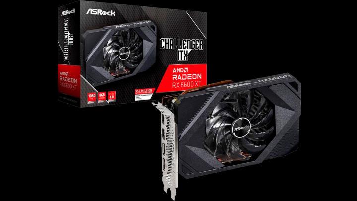 ASRockのRadeon RX 6600 XT Challenger ITXは、SFF PCにEpic 1080pゲーミングをもたらします。