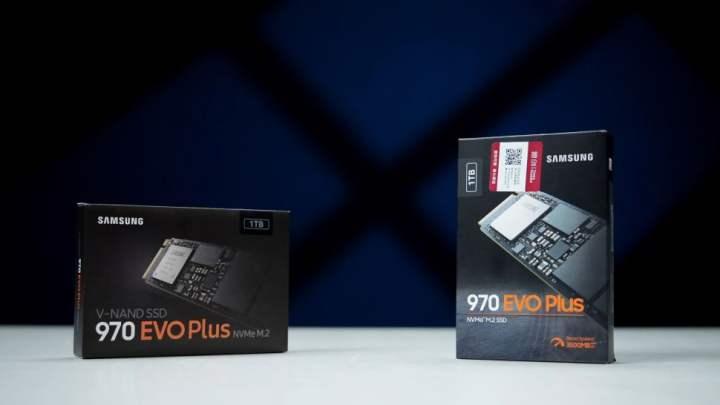 Old 970 Evo Plus (Left) vs. New 970 Evo Plus (Right
