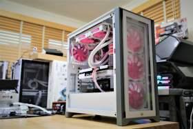 ピンクとホワイかっこかわいいPCになりました #1