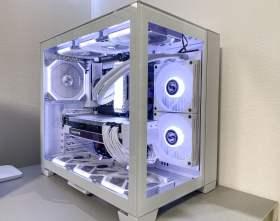 【Ryzen9 5900x,RTX3080】ホワイトよりも白いオシャレPC