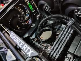 ROG Strix 控えめなRGBと最適化された冷却と裏配線 MATXケースで実現 #11