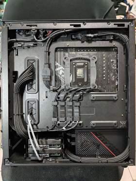 ROG Strix 控えめなRGBと最適化された冷却と裏配線 MATXケースで実現 #2