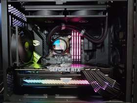 ROG Strix 控えめなRGBと最適化された冷却と裏配線 MATXケースで実現 #1