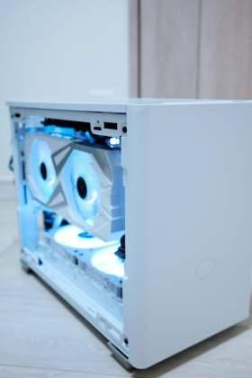 Master Box NR200Pで作る白いゲーミングPC #1