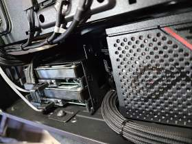 ROG Strix 控えめなRGBと最適化された冷却と裏配線 MATXケースで実現 #5