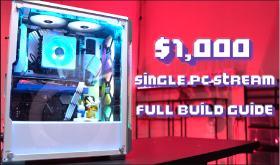 $1000 streaming pc by Joey Delgado