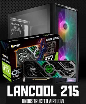 GeForce RTX 3070 と Ryzen 5 5600X に 200mm ARGB ファン搭載ケース 15万円台 自作PC構成