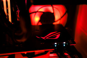 【i9 9900KF+RTX2080Ti】炎柱・煉獄さんをイメージしたMini-ITX PC #2