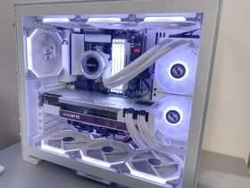 【Ryzen9 5900x,RTX3080】ホワイトよりも白いオシャレPC #1