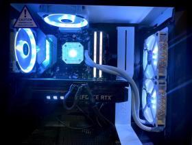 【Ryzen 5 5600X/GeForce RTX 3070 Ti】美しいPC作りましょう𓂃 𓈒𓏸𑁍 #1