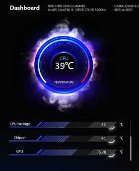 ROG Strix 控えめなRGBと最適化された冷却と裏配線 MATXケースで実現 #12