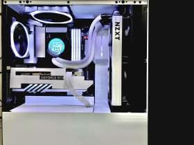 白いNZXT主体PC #3