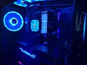 Corei9 11900KとGeForce RTX 3090自作
